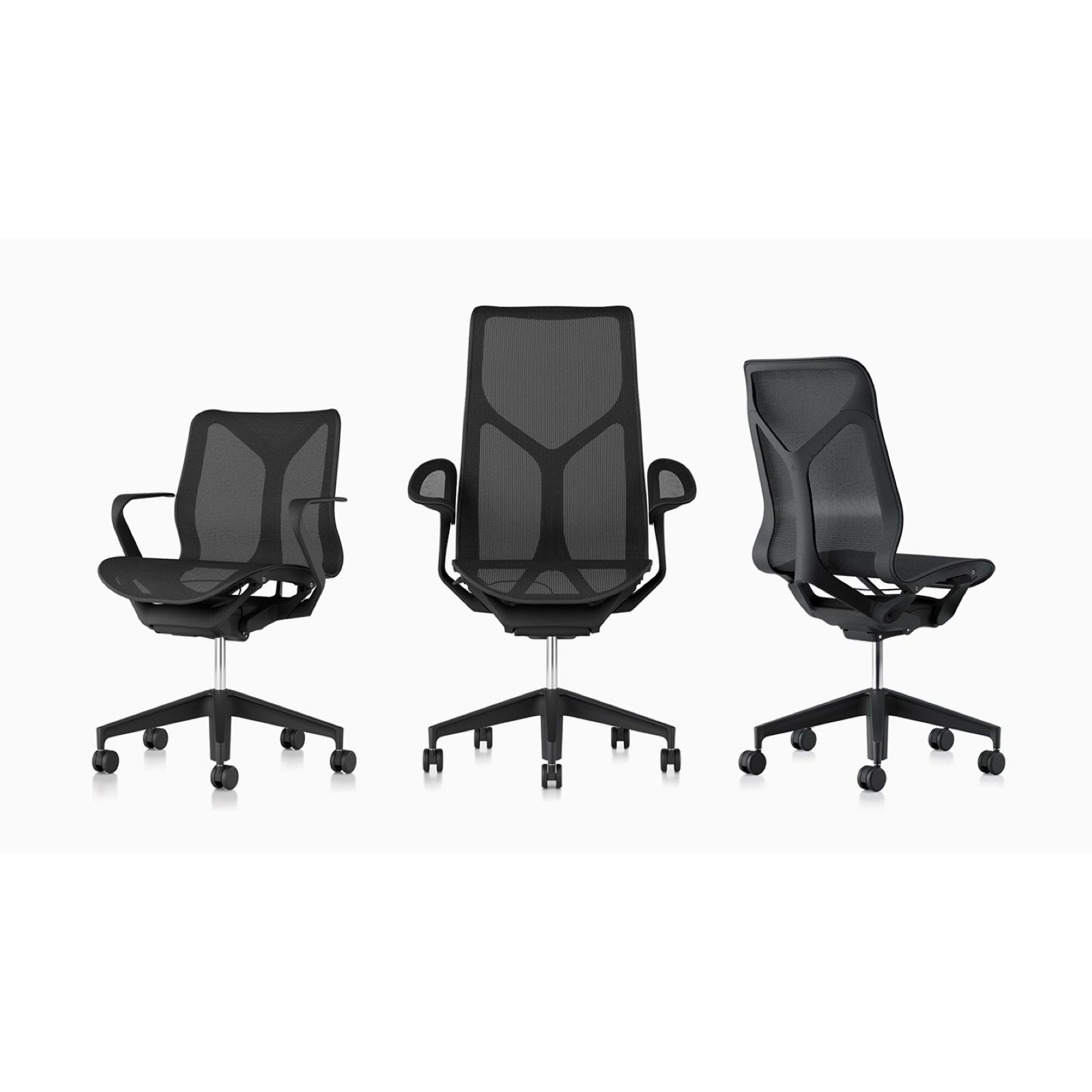 Cosm chairs graphite